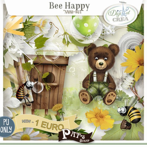 Patsscrap__bee_happy_1euro