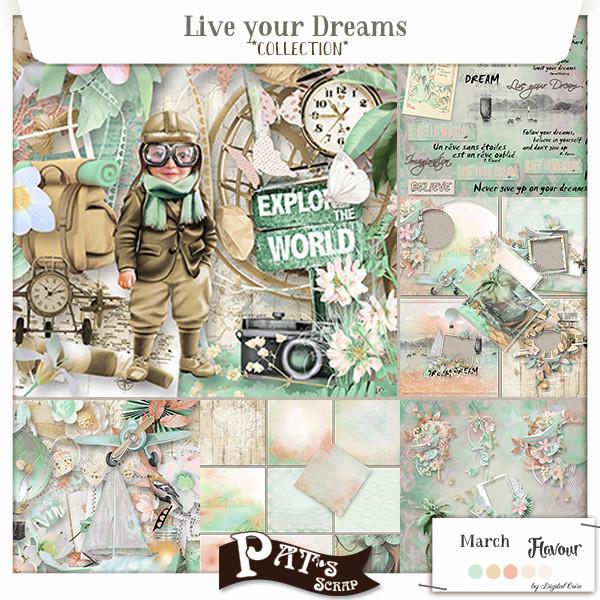 Patsscrap_Live_your_dreams_collection