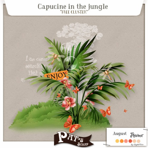 Patsscrap_Capucine_in_the_jungle_free_cluster