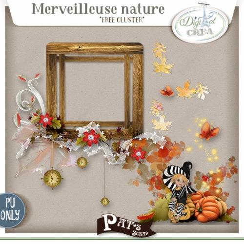 Patsscrap_merveilleuse_nature_free_cluster