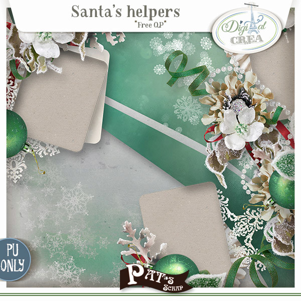 Santa's Helpers + free with purchase