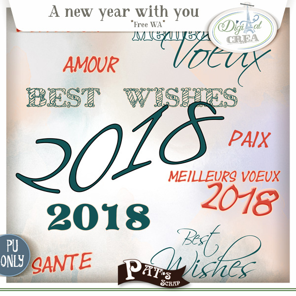 A new year with you by Pat's Scrap