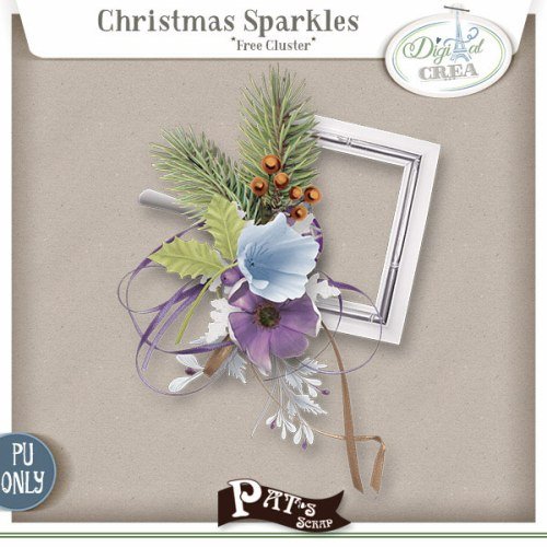 Patsscrap_Christmas_Sparkles_free_cluster