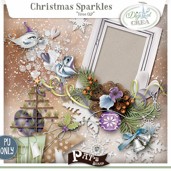 Christmas Sparkles by Pat's Scrap
