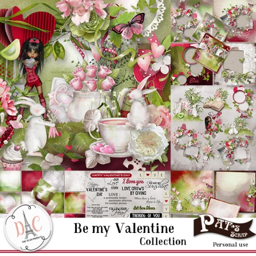 Patsscrap_Be_my_valentine_collection