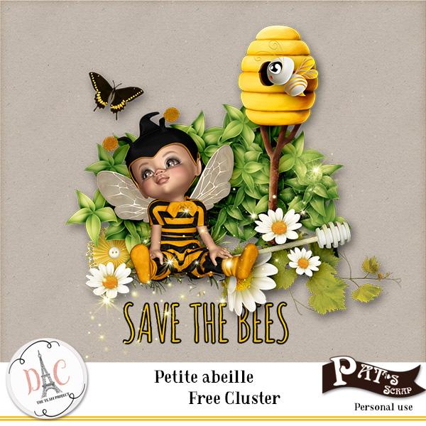 Patsscrap_Petite_Abeille_PV_free_cluster