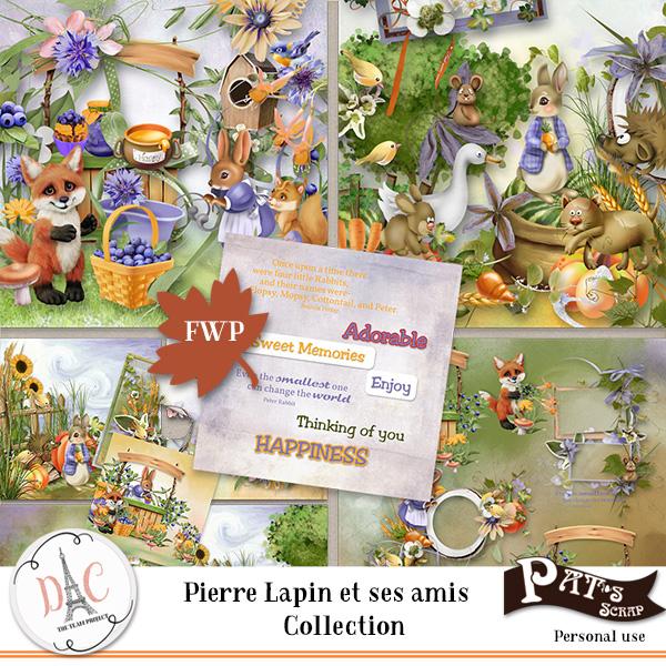 Patsscrap_Pierre_lapin_et_ses_amis_PV_Collection