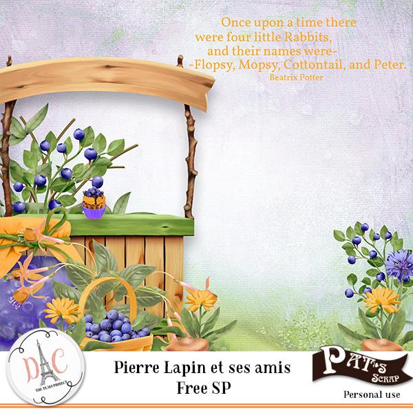 Pierre lapin et ses amis by Pat's Scrap