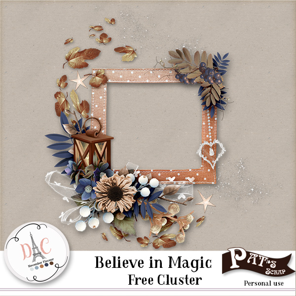 Believe in Magic by Pat's Scrap